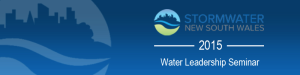 Stormwater NSW Leadership 2015 Event Logo