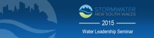 Stormwater NSW Leadership 2015 Event Logo